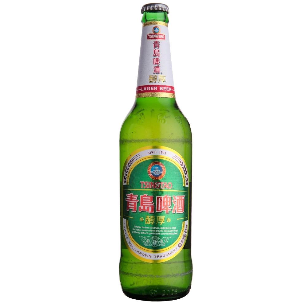 青岛啤酒 醇厚600ml